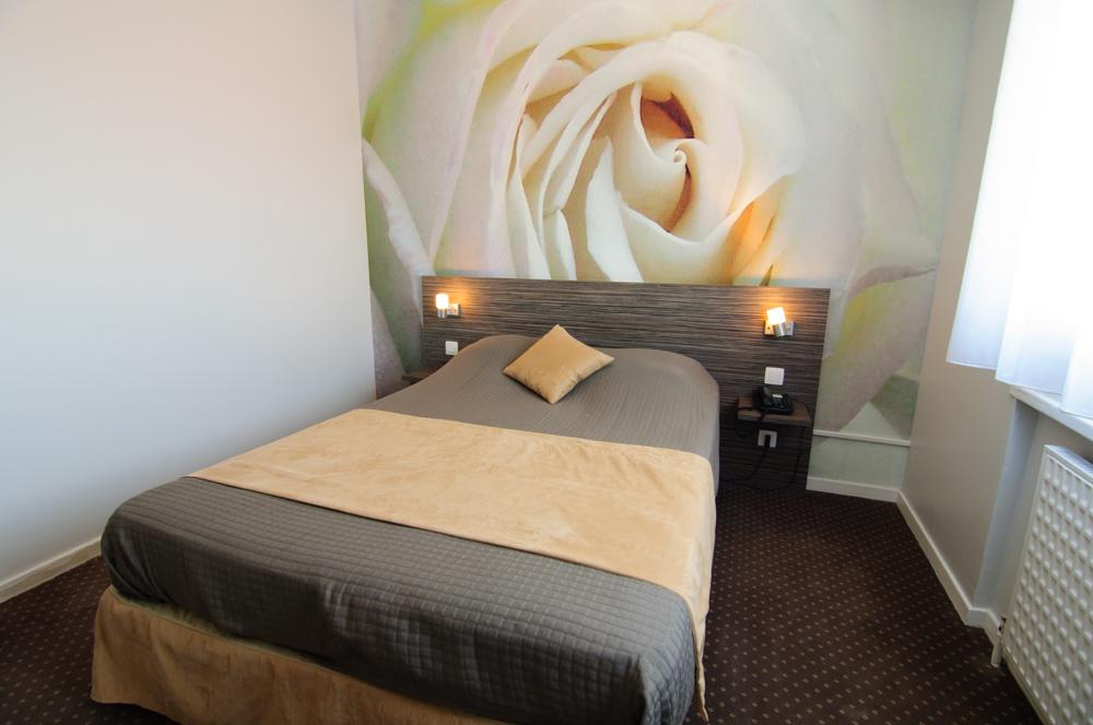 Chambre  Rose Blanche   Hotel DauLy Lyon Bron